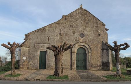 Consac (17) - Eglise Saint-Pierre