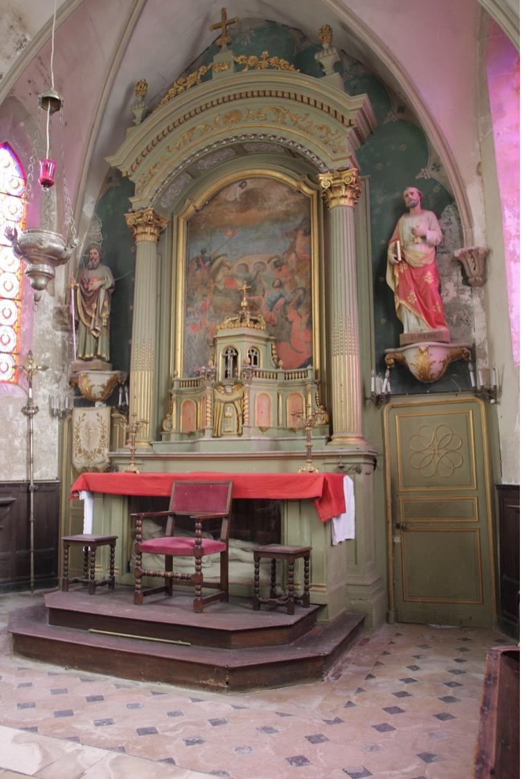 Courtonne-les-deux-Eglises (14) - Eglise Saint-Paul