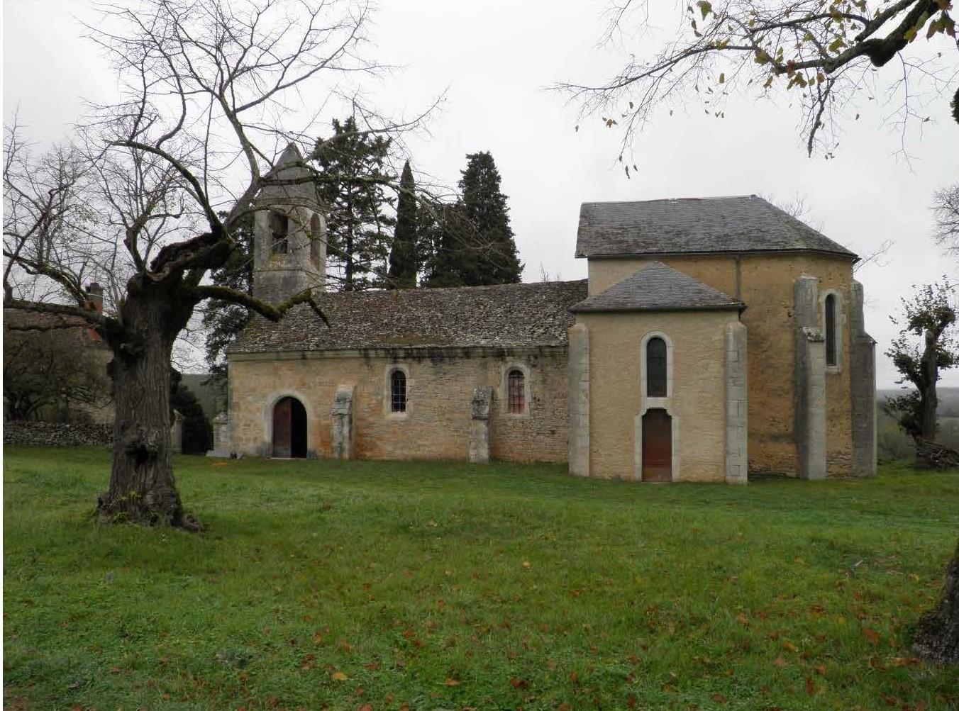 Couzou (46) - Eglise Saint-Cyr-et-Sainte-Julitte- Sauvegarde de l'Art Français