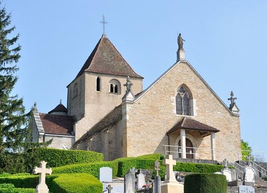 Champagnat (71) -église ND de l'Assomption
