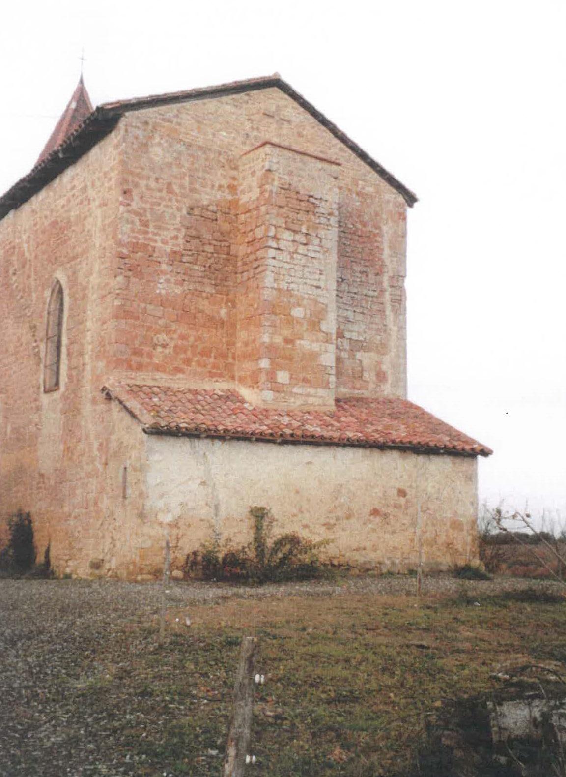 Bouzon-Gellenave (32) Eglise Saint-Pierre de Gellenave