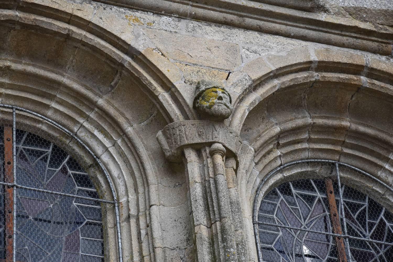 Corlay (22) - église Saint-Sauveur - La Sauvegarde de l'Art Français