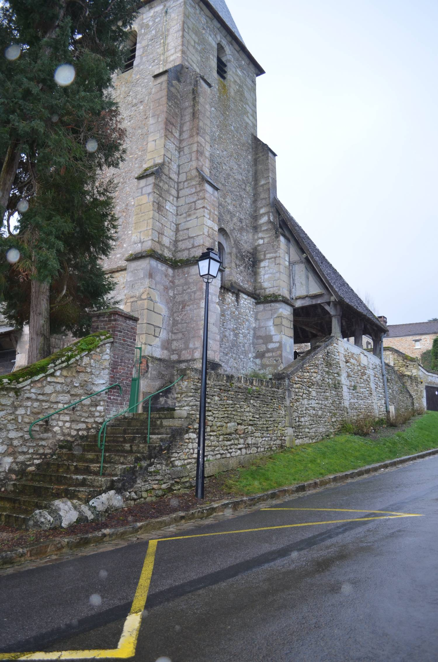 Goupillières (78) - Eglise Saint-Germain de Paris - sauvegarde de l'Art français