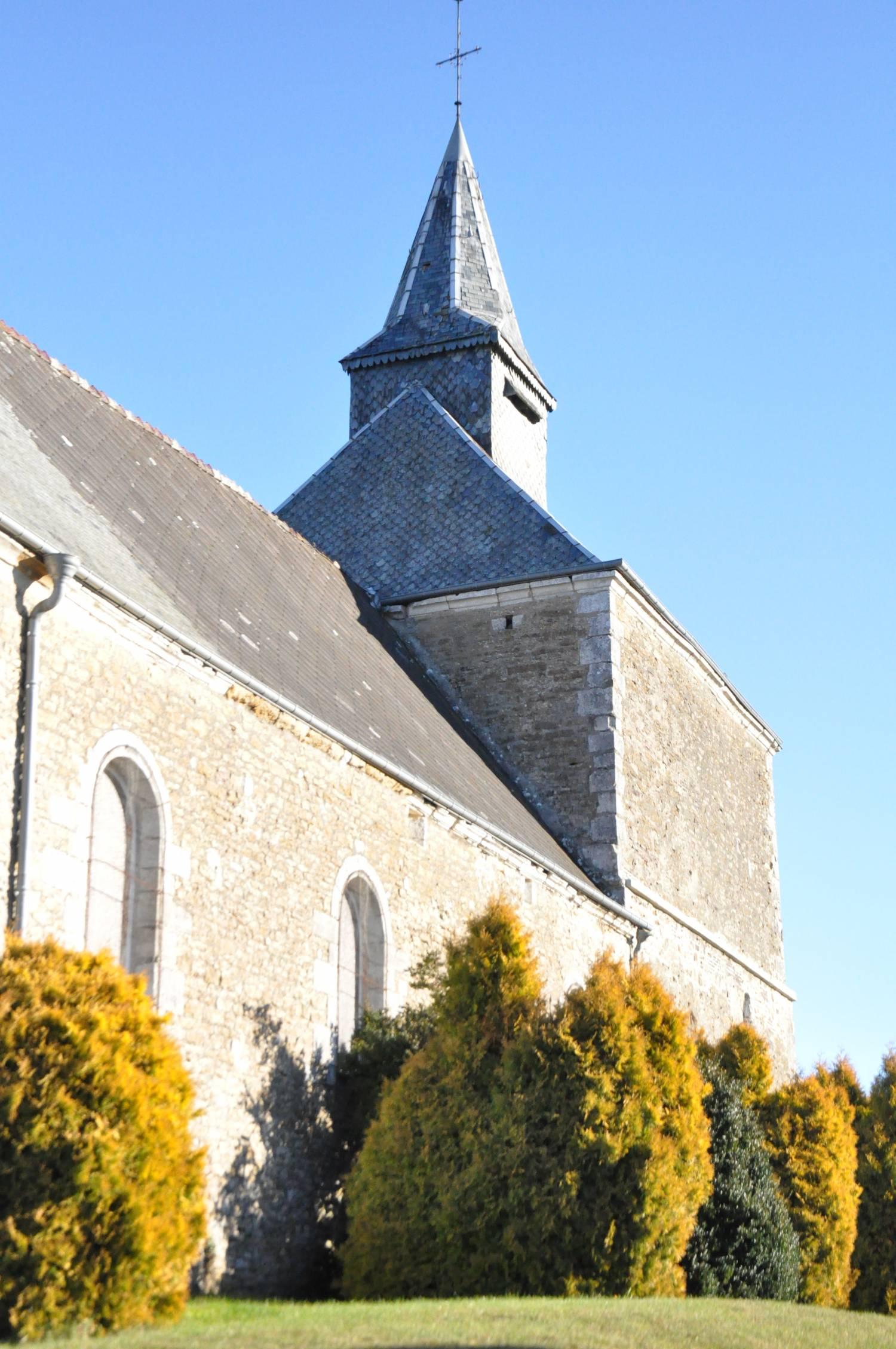 Tarzy (08) Eglise Saint-Cyr-et-sainte-julitte SAF