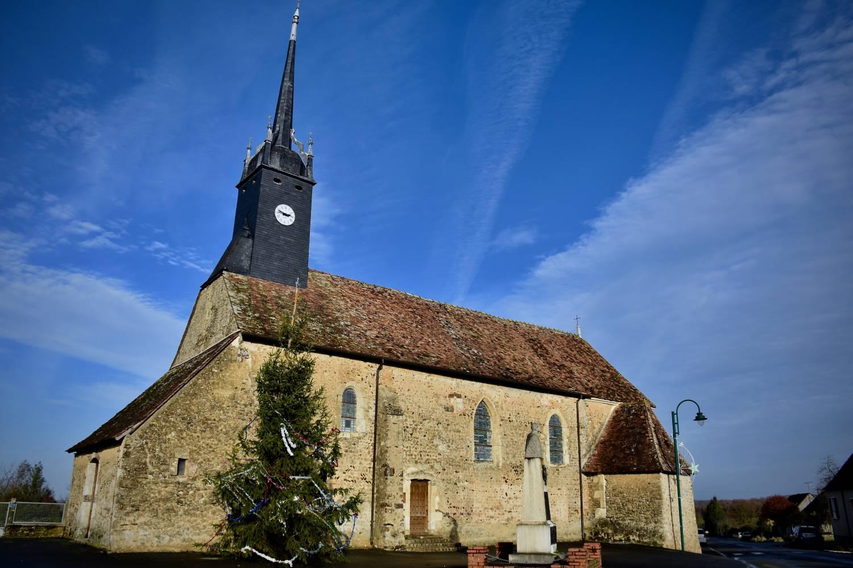 Bouer (72) Eglise Saint-Pierre - Sauvegarde de l'Art Français