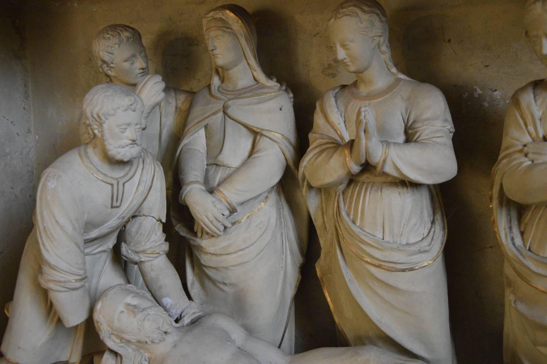 La Mise au tombeau (détail), Bernay-Neuvy-en-Champagne