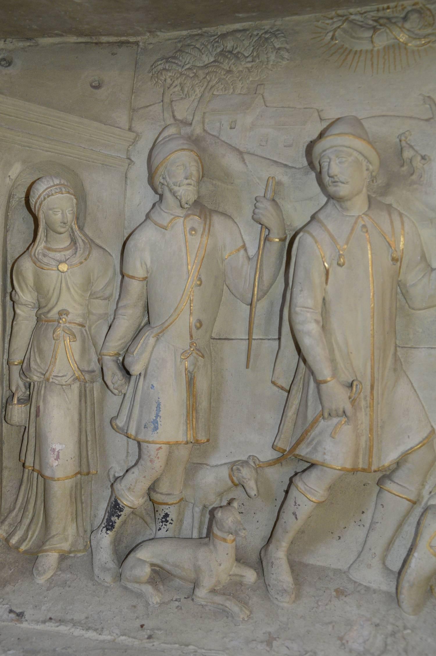 La Nativité (détail), Bernay-Neuvy-en-Champagne