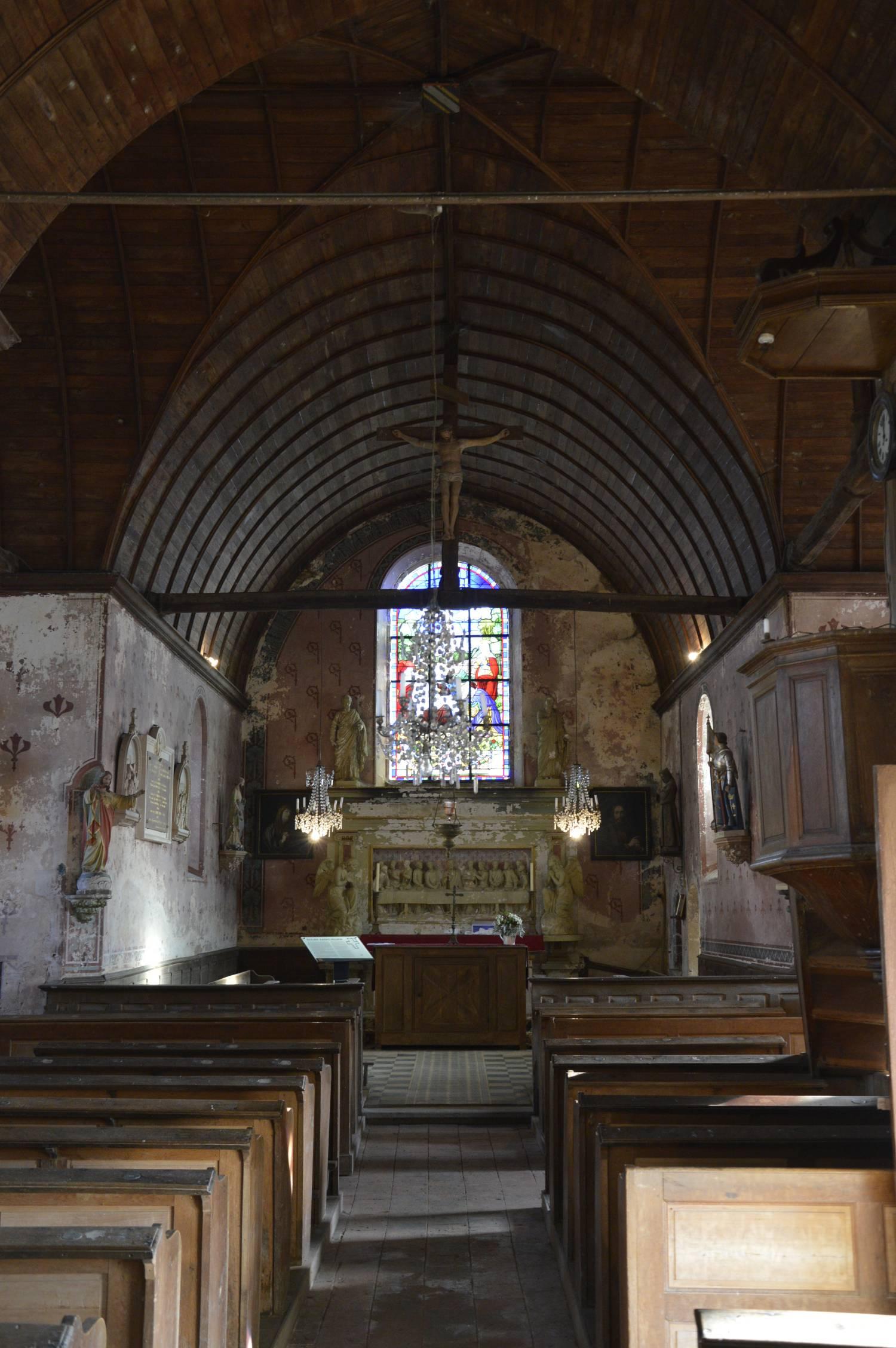 Eglise Saint-Julien-le-Pauvre, Bernay-Neuvy-en-Champagne