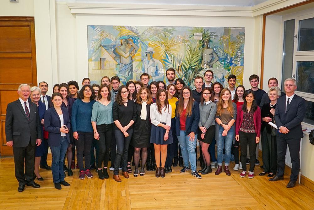 Nancy soirée lancement PGMF - La Sauvegarde de l'Art Français