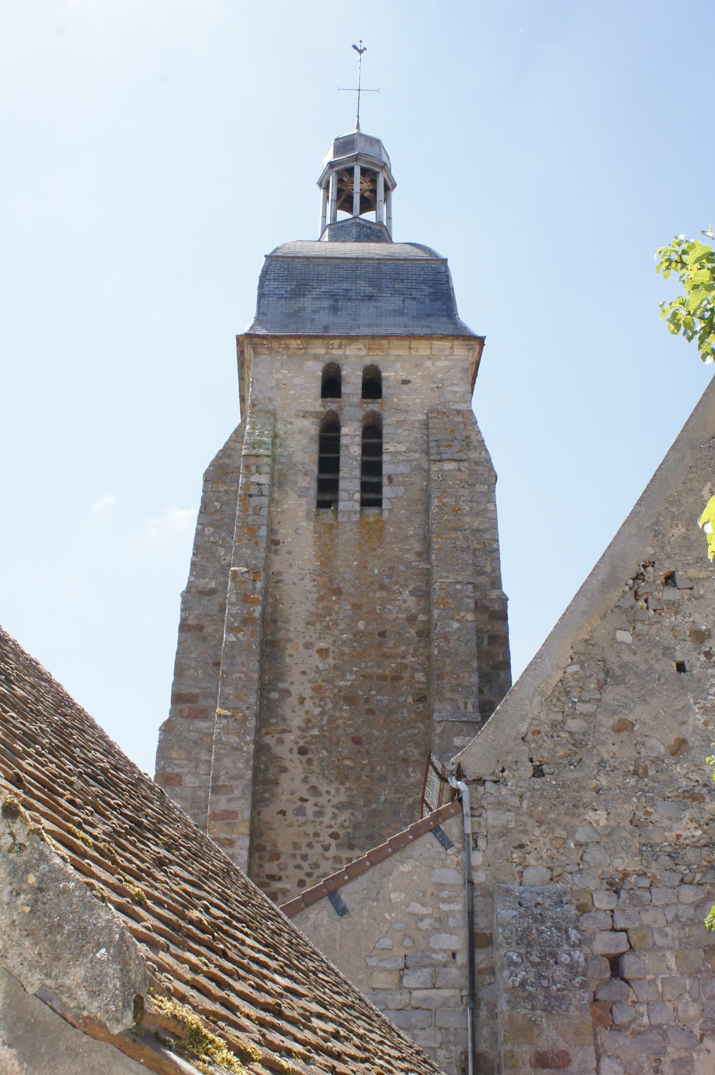 Vinneuf (89) Eglise Saint-Georges - Sauvegarde de l'Art français
