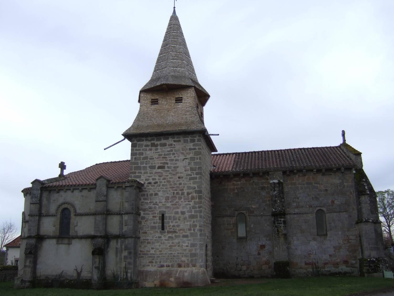 Louroux-Bourbonnais (03) Eglise Saint-Martin - Sauvegarde de l'Art Français