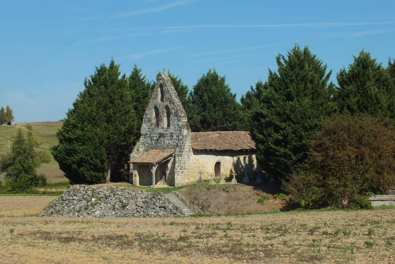 Montastruc (47) - église Saint-Pierre de Cabannes
