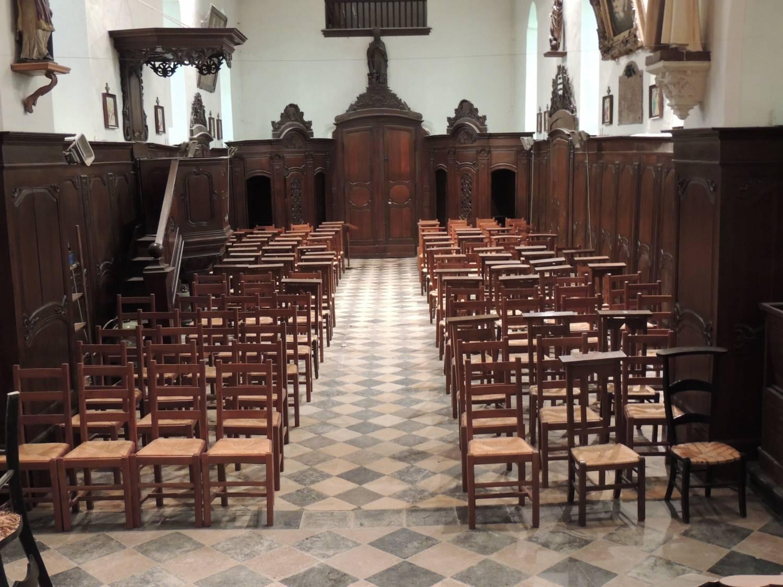 Quiestède (62) - église Notre-Dame