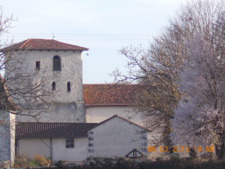 Saint-Paul-Lizonne (24) Eglise Saint-Pierre-Saint-Paul