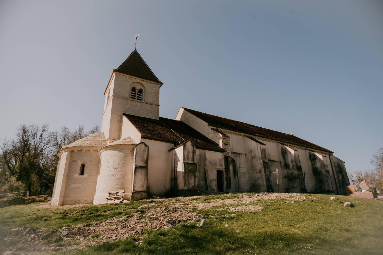 Reulle-Vergy-Vergy (21) - église St-Saturnin