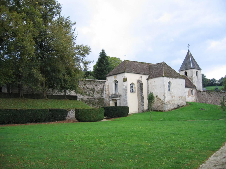 Chastellux-sur-Cure (89) - Eglise Saint-Germain - La Sauvegarde de l'Art français
