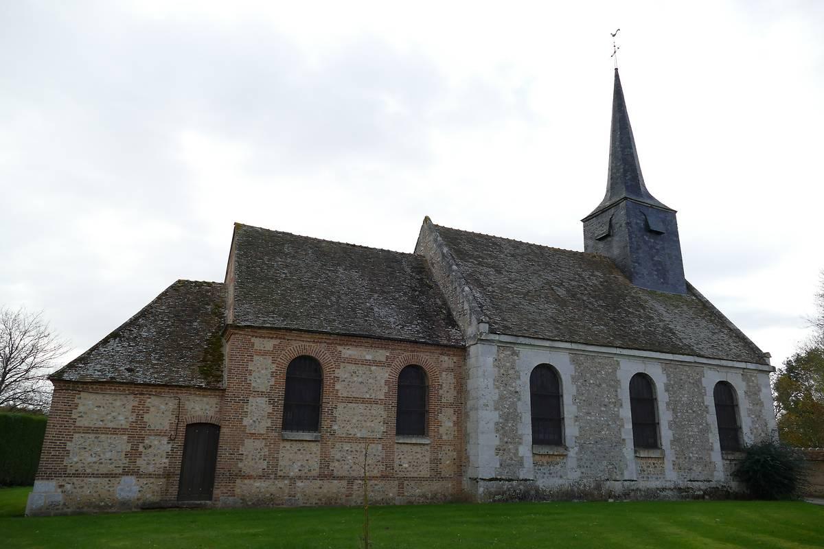 Venon (27) Eglise Saint-Saturnin