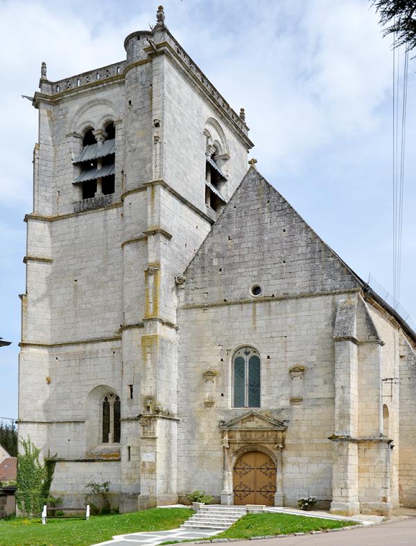 Merry-sur-Yonne - église Saint-Denis - La Sauvegarde de l'Art Français