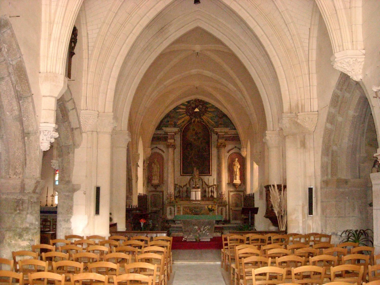 Tocqueville (50) - église Saint-Laurent - La Sauvegarde de l'Art Français