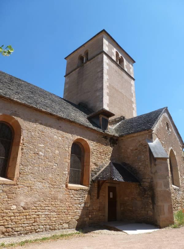 Berzé-la-Ville chapelle Sud