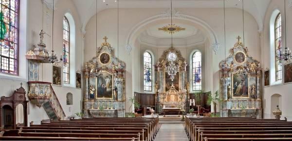 Ebersheim (67) - église Saint-Martin