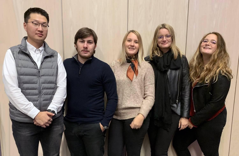 L'équipe étudiante