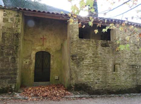 Lunas (34) Chapelle Notre-Dame-de-Nize et son ermitage- Sauvegarde de l'Art Français