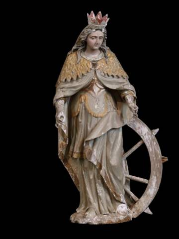 Sainte Catherine, Cardonnette (80) - la Sauvegarde de l'Art Français