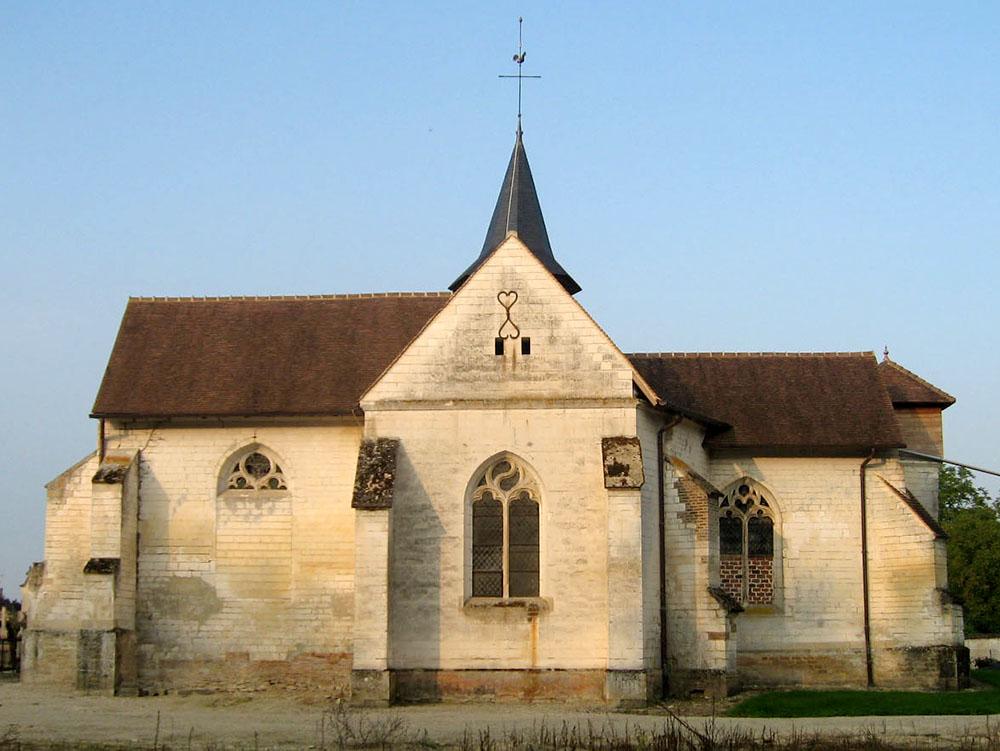 Plan Coclois (10) - Eglise Saint-Maurice - La Sauvegarde de l'Art Français