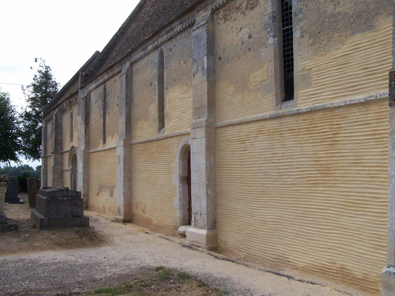 Chicheboville (14) Eglise Notre-Dame-de-Béneauville - Sauvegarde de l Art français
