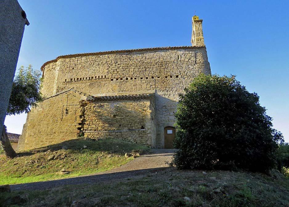 Cazalrenoux (11) Eglise Notre-Dame - Sauvegarde de l'Art Français