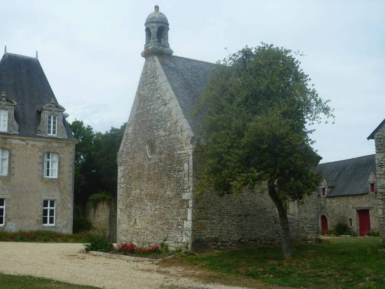 Sarzeau (56) - Chapelle du château de Truscat - La Sauvegarde de l'Art Français