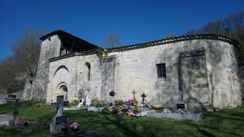 Frégimont (47) Eglise Sainte-Raffine de Gaujac