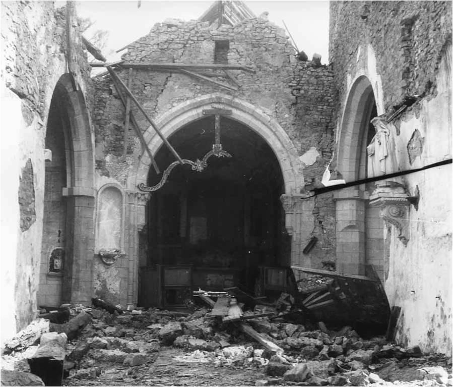 Joganville (50) Eglise Saint-Vigor