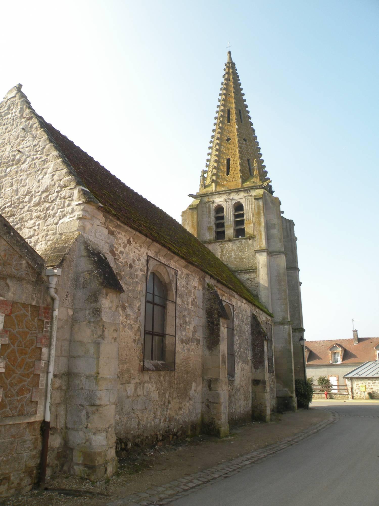 Fresnoy-le-Luat (60) - Église Saint-Martin