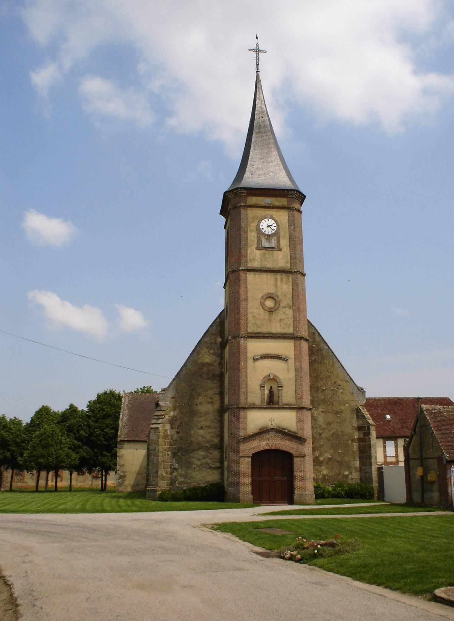 Gourant-le-Guérin (27) Eglise Saint-Lambert Fondation La Sauvegarde de l'Art Français