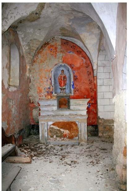 Montfroc (26) Eglise Saint-Clair SAF