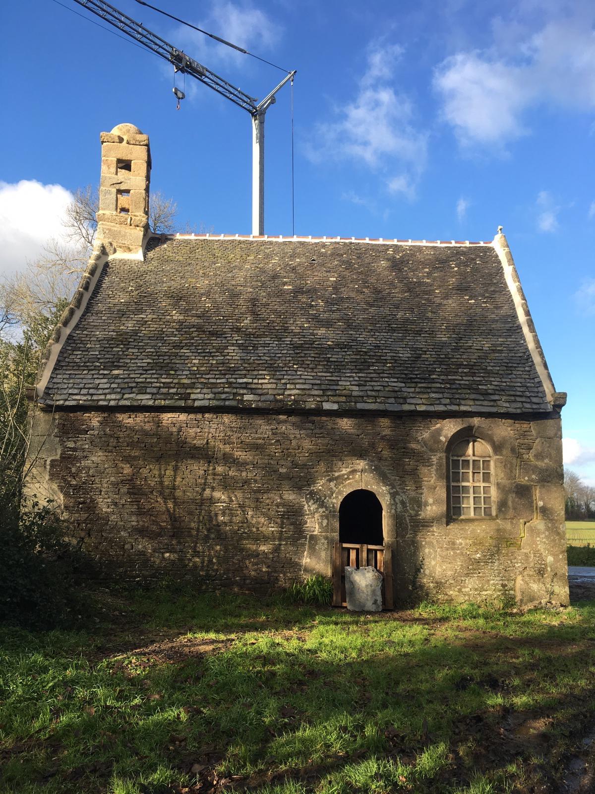 Plourin-lès-Morlaix (29) Chapelle Saint-Bernard du manoir de Penlan