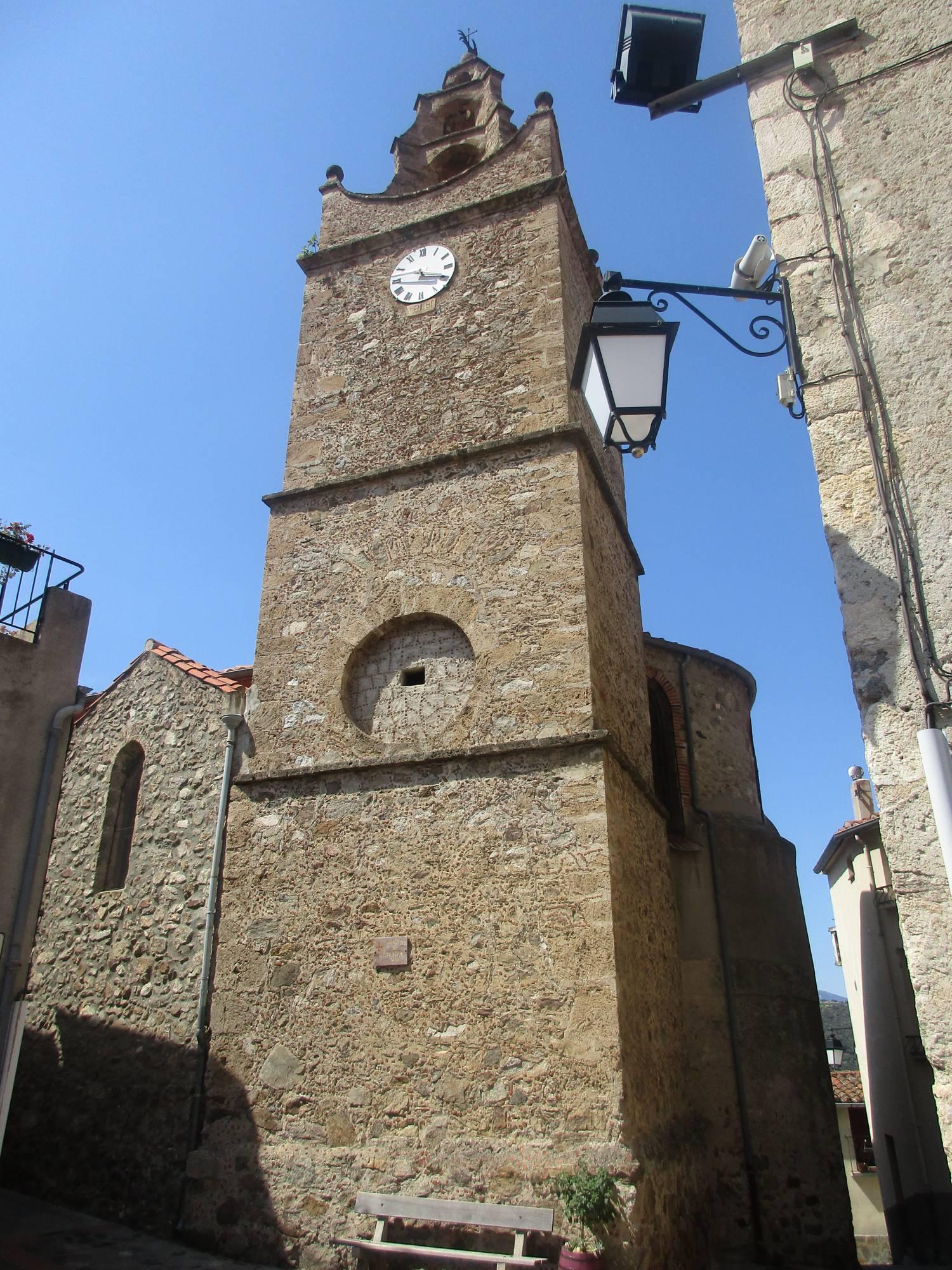 Caramany (66) Eglise Saint-Etienne
