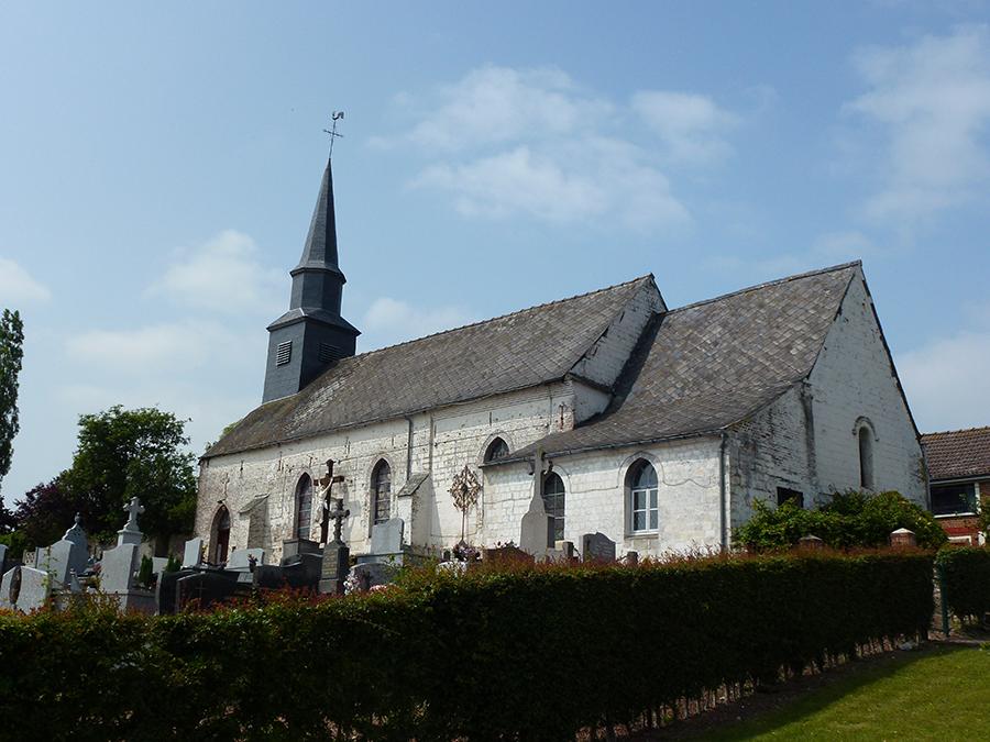 Sachin (62) - église Saint-Jean-Baptiste - La Sauvegarde de l'Art Français