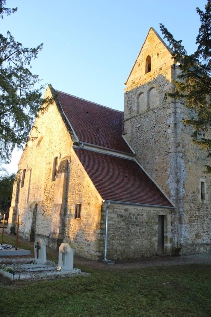 Angoville (14) Eglise Sainte-Anne - Sauvegarde de l'Art Français