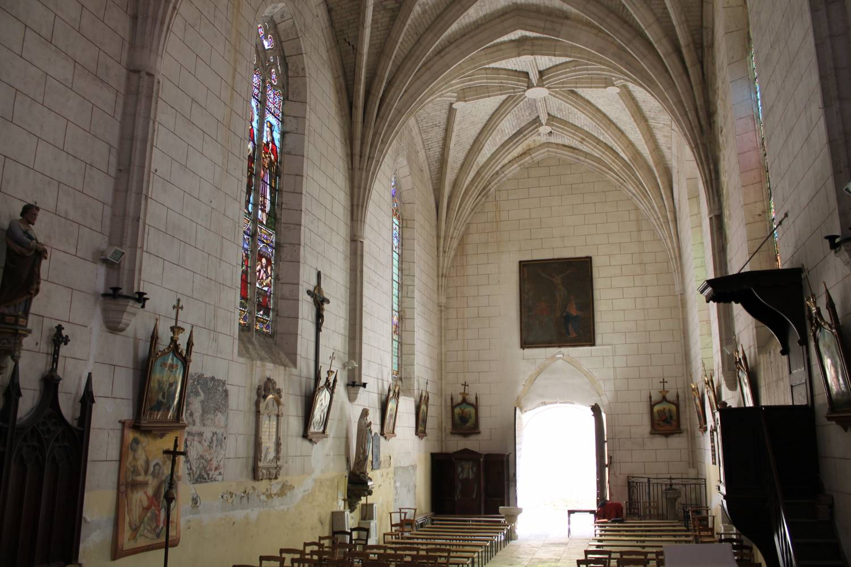 Cahuzac (47) Eglise Saint-Martin - Sauvegarde de l'Art Français