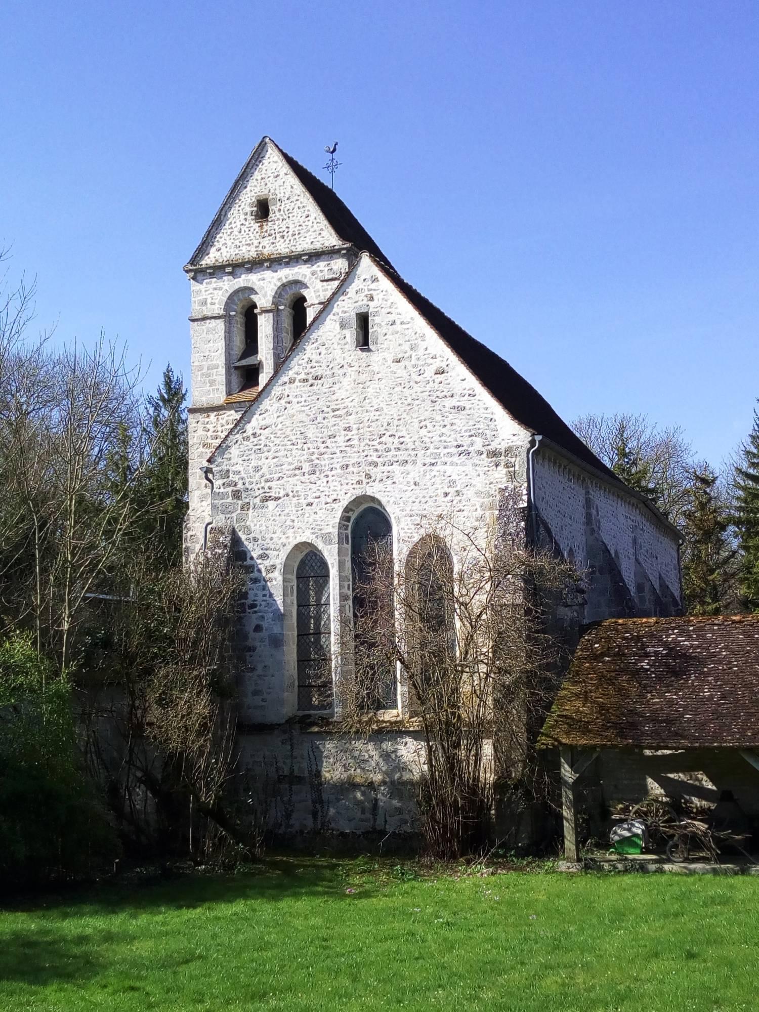 Gaubertin (45) Eglise Saint-Aubin - Fondation La Sauvegarde de l'Art Français