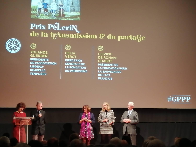 Prix Pèlerin 2019 - La Sauvegarde de l'Art Français