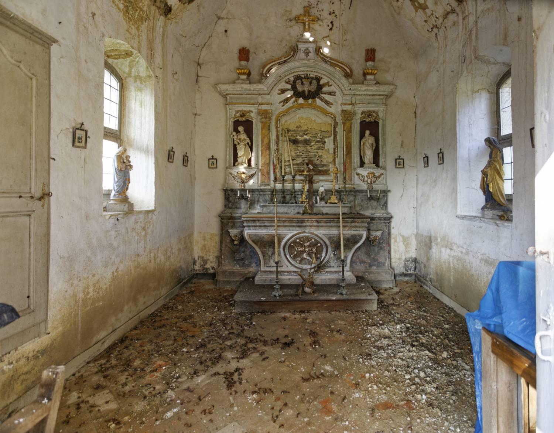 Châtelain (53) - Chapelle du château de Minzé - La Sauvegarde de l'Art Français