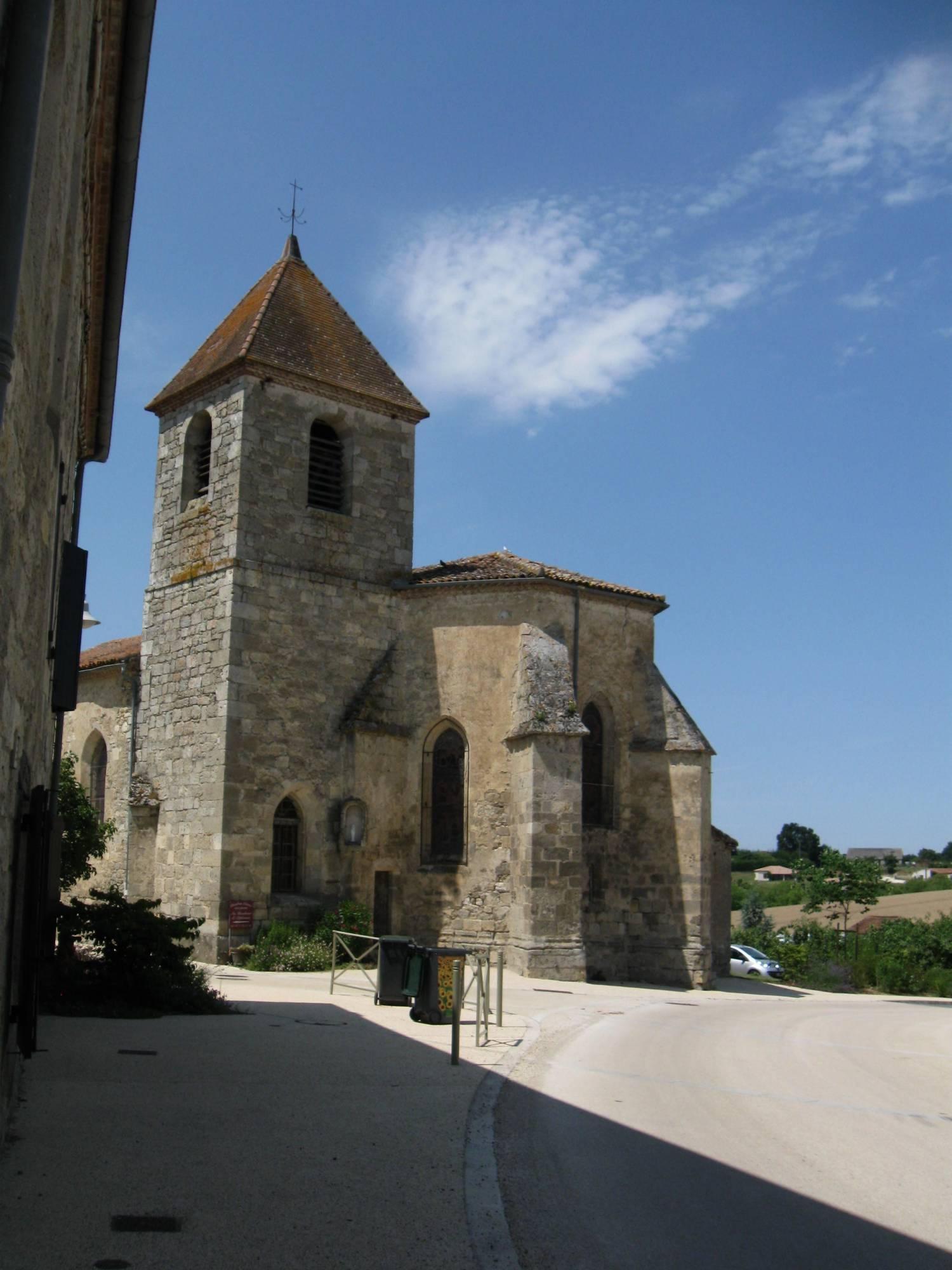 Lusignan-Petit (47) Eglise Notre-Dame - Fondation La Sauvegarde de l'Art Français