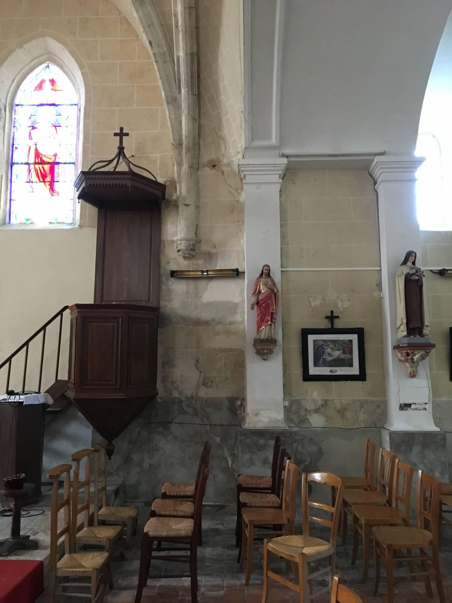 Boismorand (45) Eglise Saint-Vrain - Fondation Sauvegarde de l'Art Français