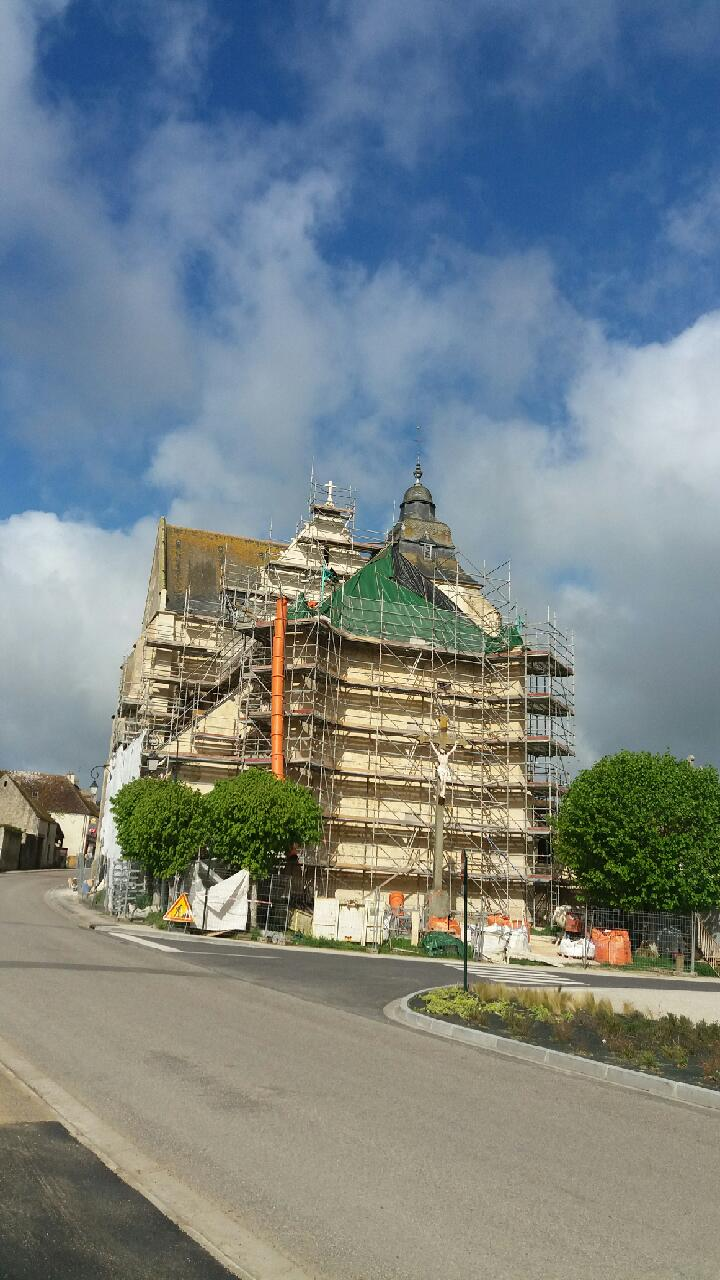 Abbatiale Sainte-Opportune - Almenèches (61) Sauvegarde de l'Art Français
