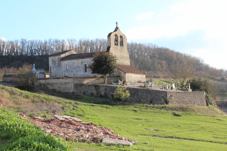 Castelnaud-de-Gratecambe (Lot-et-Garonne) - Église Saint-Pierre-aux-Liens de Cailladelles - La Sauvegarde de l'Art Français