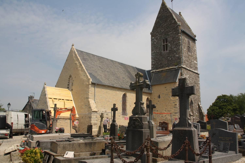 Monthuchon (50) Eglise Saint-Martin - La Sauvegarde de l'Art Français